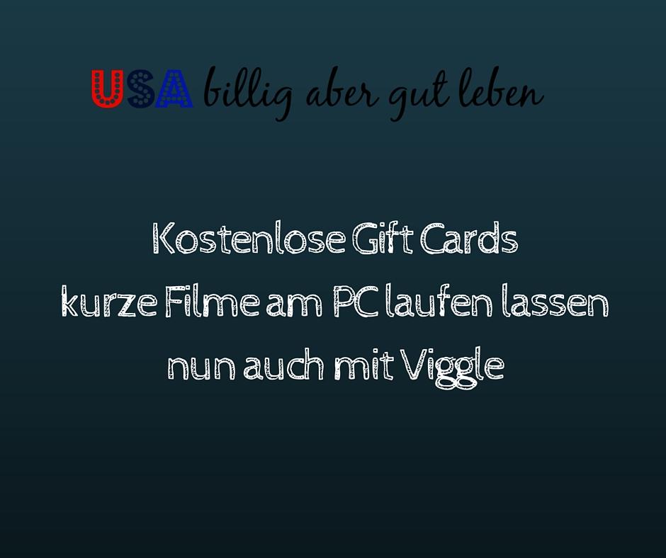 Sammle nun auch am pc punkte fuer gift cards mit viggle for Billig leben