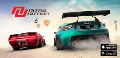 NITRO NATION 6 Mod Apk + OBB Download No Blown Online