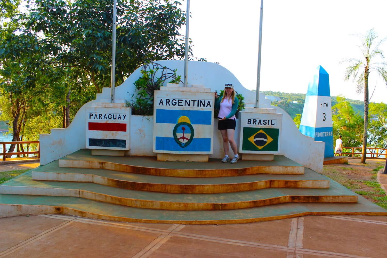 las tres fronteras puerto iguazu argentina