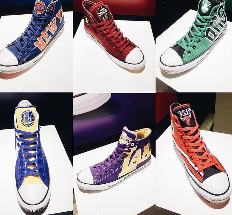 9c6b157f2b01c4 CONVERSE Introduces NBA Chuck Taylor All-Star Collection Celebrating ...