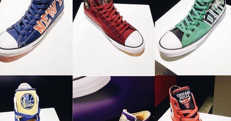 420d2cf9a44e CONVERSE Introduces NBA Chuck Taylor All-Star Collection Celebrating  Basketball History and Culture ~ ShowbizNest
