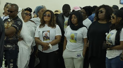 Photos: Moji Olaiya Finally Buried in Lagos Today