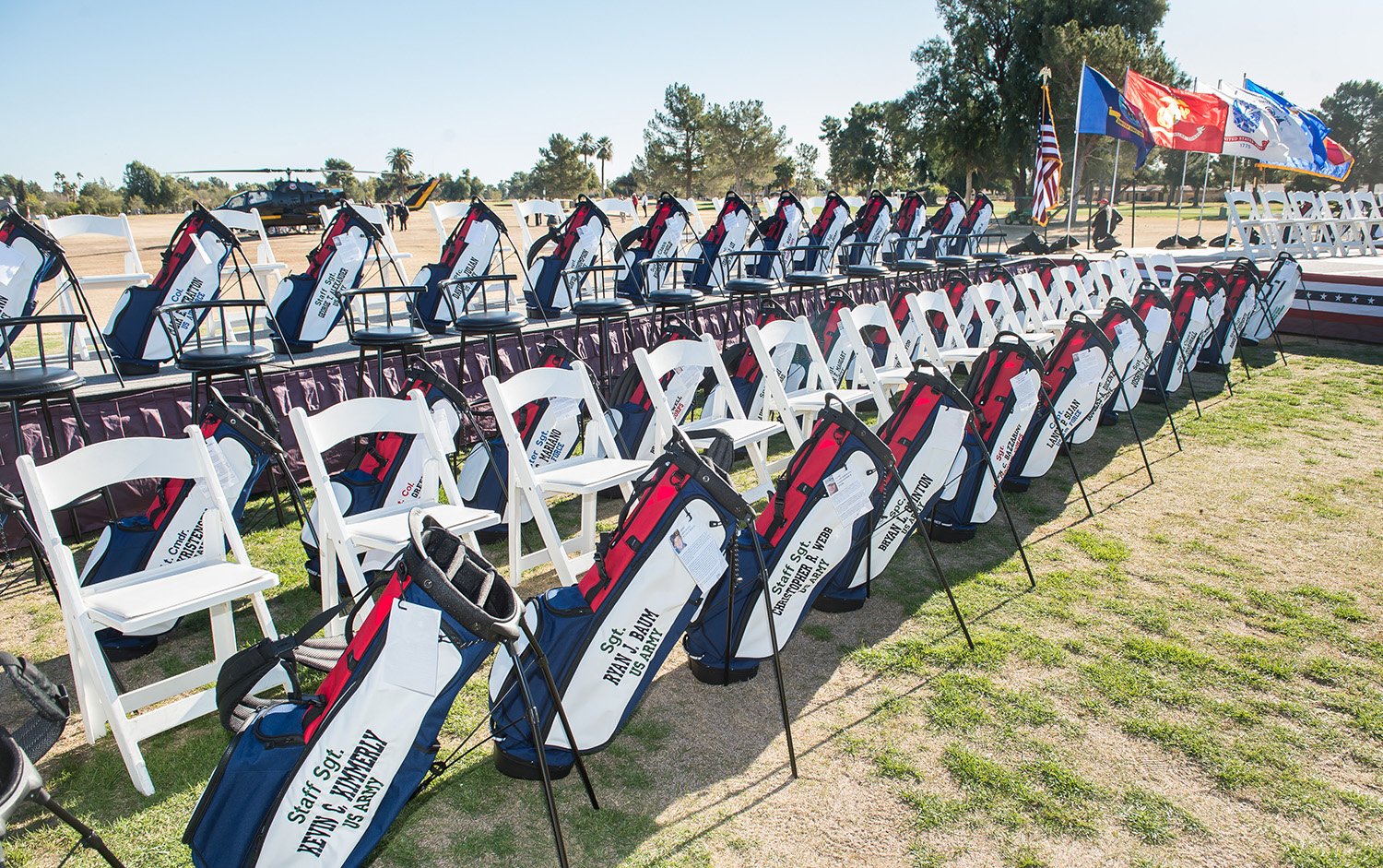The Collegiate Golfers Paring In This Year S Patriot All America Invitational To Be Played December 27 31 At Wigwam Golf Club Litchfield Park