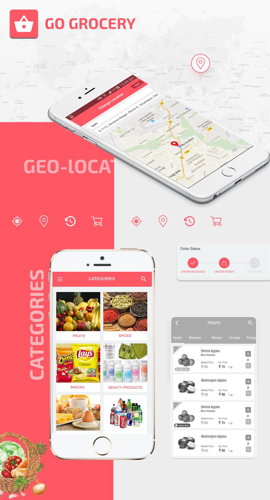 Grocery App Development Company In Kuwait, Dubai | Mobile App