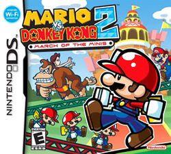 Mario vs. Donkey Kong 2: March of the Minis, NDS, Español, Mega