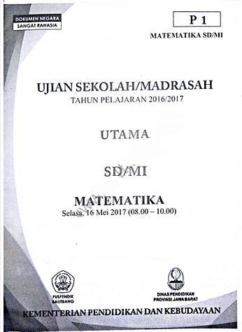 Arsip Soal Ujian Nasional Un Sd Mi Naskah Asli Lengkap Semua Tahun Semangat27