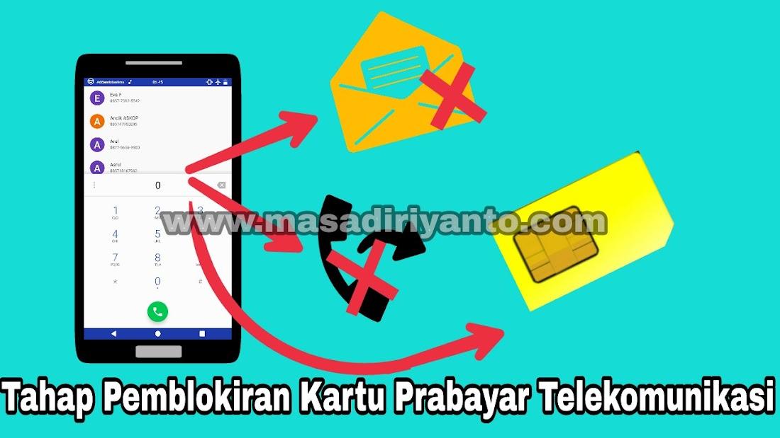 Pemblokiran bertahap kartu prabayar telekomunikasi ccuart Choice Image