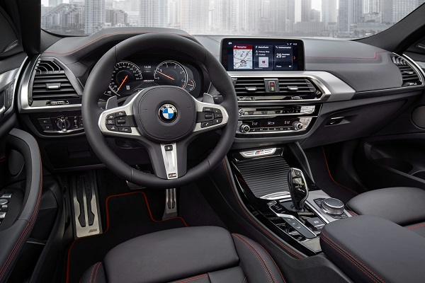 Interior BMW X4 2018