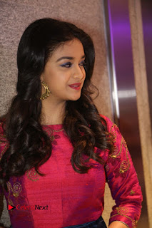 Actress Keerthi Suresh Stills at Remo Success Meet  0107.JPG