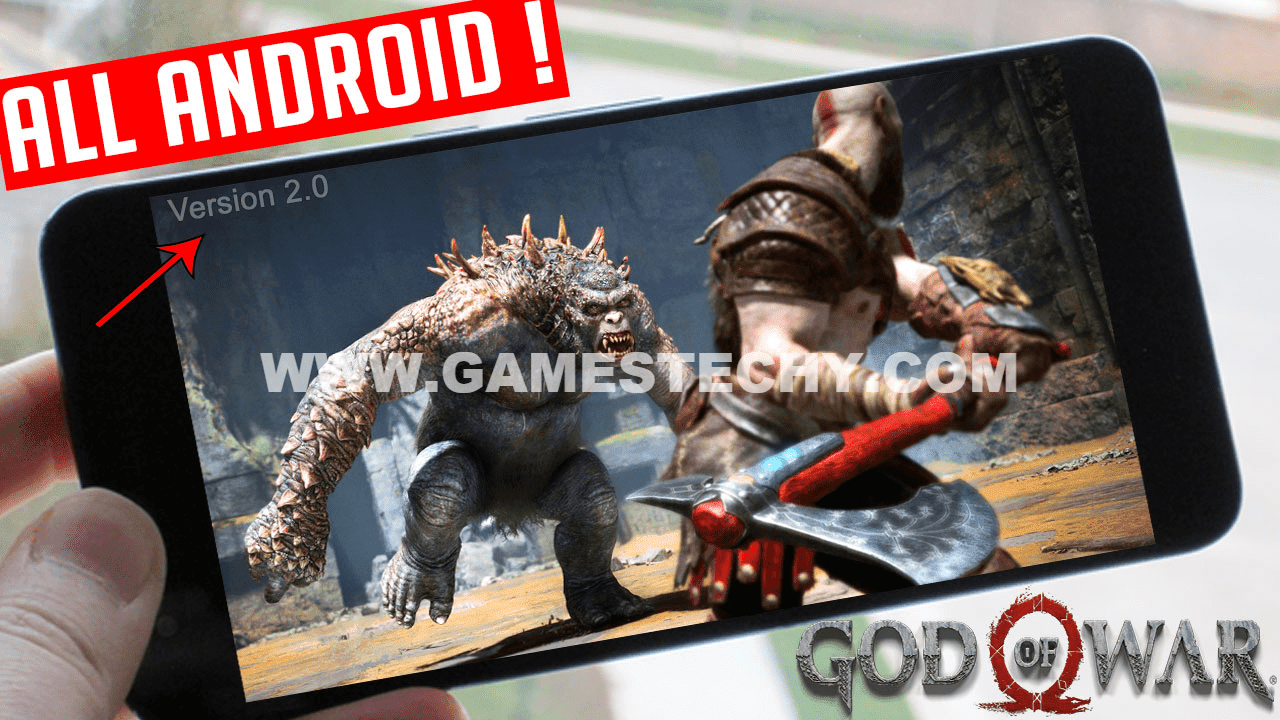 Download God Of War 4 APK Android