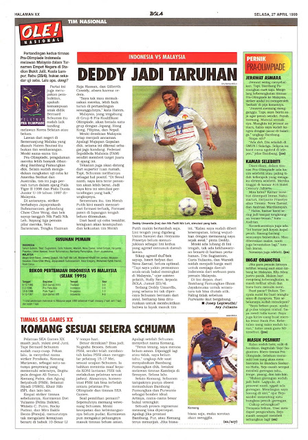INDONESIA VS MALAYSIA DEDDY JADI TARUHAN