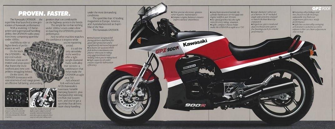 Kawasaki GPZ900R Fork Seals 38mm GPZ900 GPZ 900R 900 R