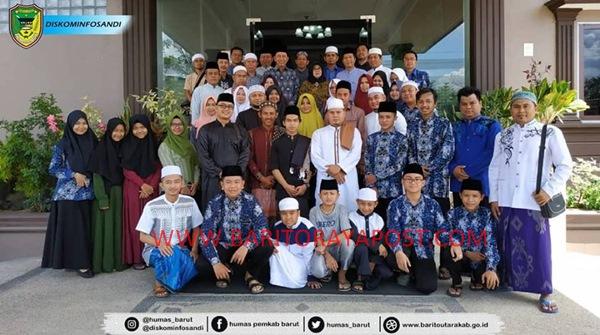 Bupati Barito Utara kunjungi Pemondokan Kafilah Barito Utara di Palangka Raya