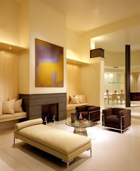 Opciones para decorar salas modernas y amplias for Decoracion del hogar contemporaneo