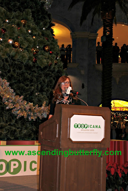 Tropicana Atlantic City Casino 2015 Holiday Tree Lighting