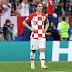 Luka Modric consigue el Balón de Oro del Mundial