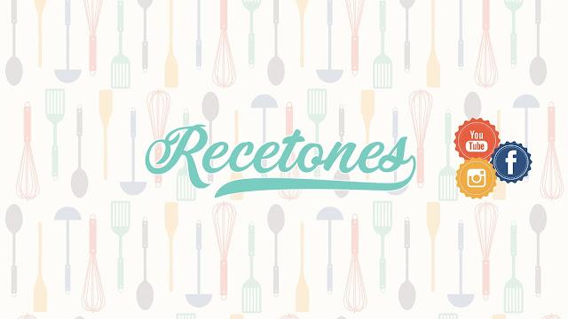 recetones, recetas de cocina, canal de cocina, cocina youtube