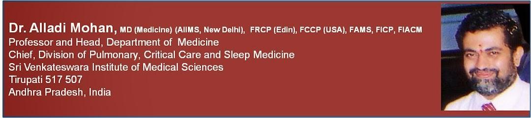 Dr  Alladi Mohan, MD (Medicine) (AIIMS, New Delhi), FRCP