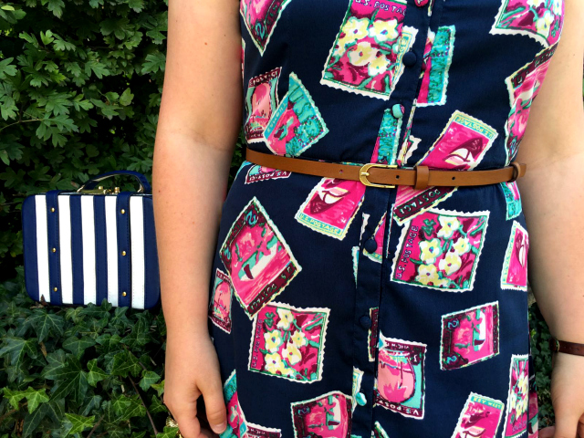 The Souvenir Print Dress