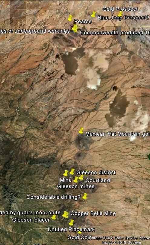GOLD, COPPER & GEMSTONES in ARIZONA