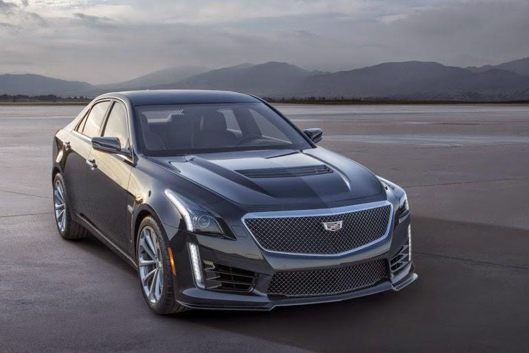 новый Cadillac CTS