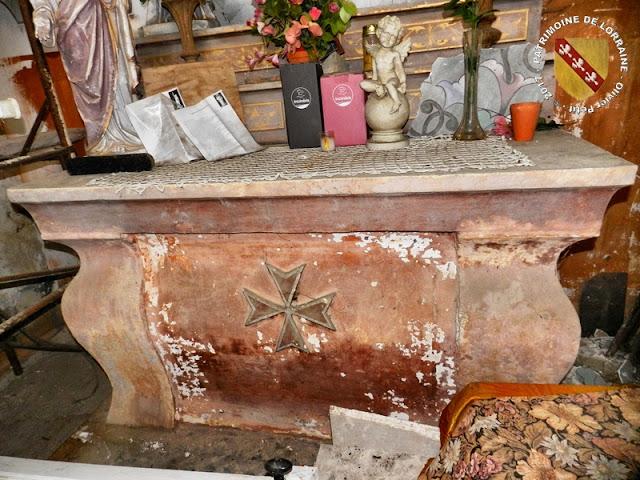 CLEREY-SUR-BRENON (54) - La Chapelle du Calvaire (XVIe-XIXe siècles)