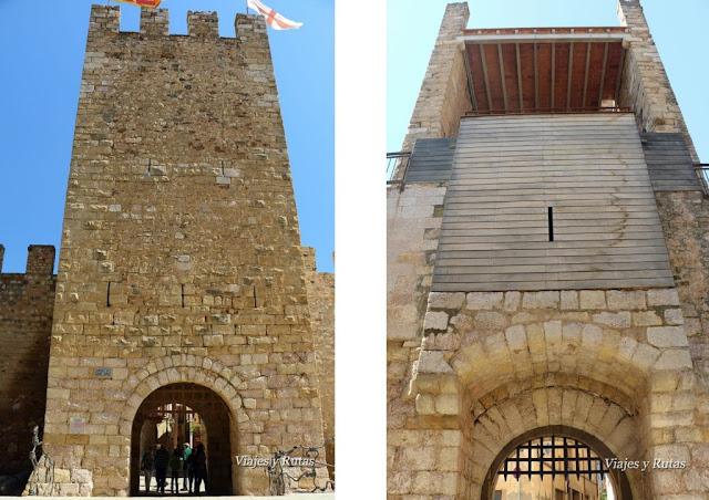 Torre-Portal de Sant Jordi, Montblanc, Tarragona