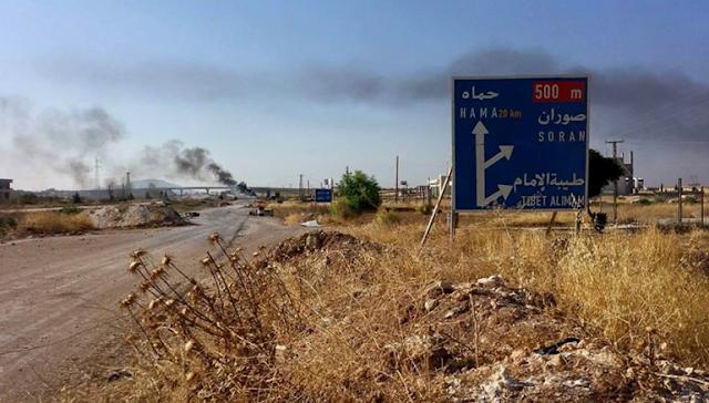 Mujahidin Suriah berhasil merebut dua kota di provinsi Hama dari pasukan rezim Asad