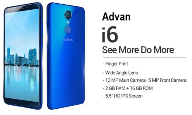 ADVAN I6 Indonesia 2018