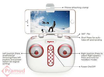 desain remote control terbaru syma X8sw indonesia