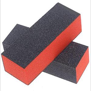 Bán dụng cụ làm nail nhám vuông đỏ