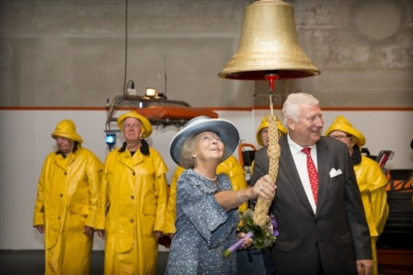 Dutch Princess Beatrix attends the reopening of the renovated National Rescue Museum Dorus Rijkers in Den Helder