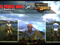 Download Mod Texture Male Cloth [Saitama Costume From OPM] MHFU For Emulator PPSSPP