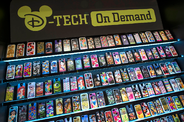 Loja D-Tech on Demand no Disney Springs em Orlando