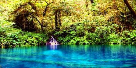 Danau Kaco, Air Percikan Surga