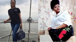 Model Olajumoke Allegedly Bleaching Her Skin(See Photo)