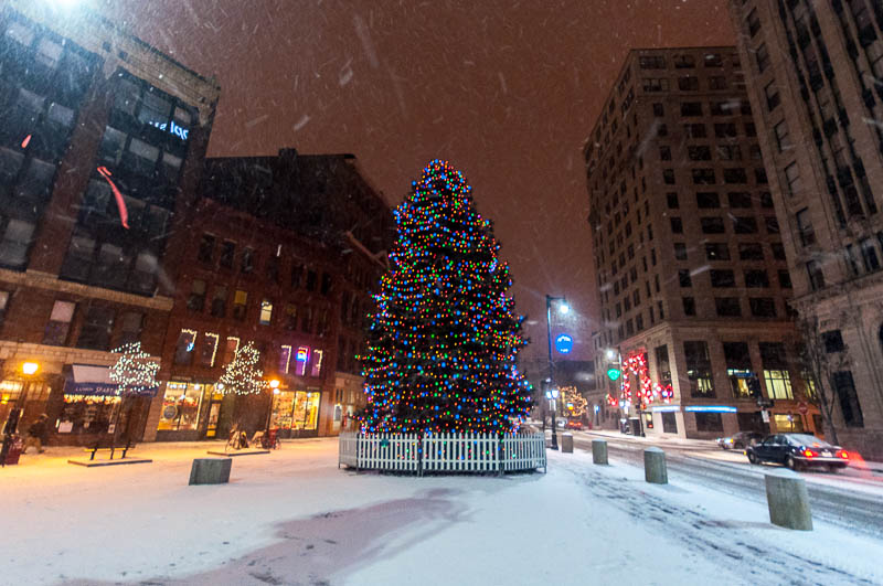Corey Templeton Photography Snow Night