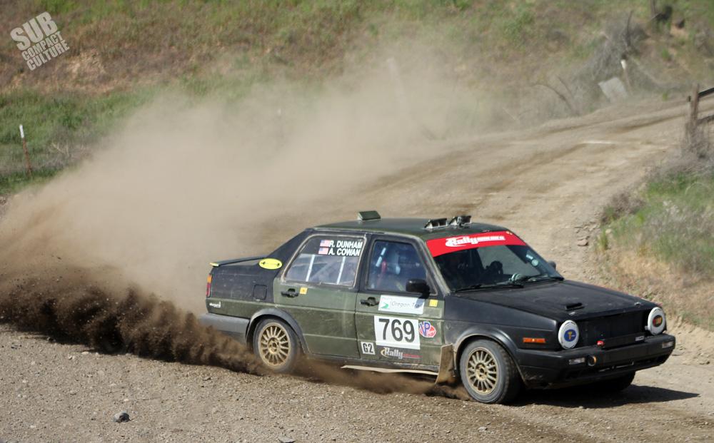 Vw Mkii Rally Car
