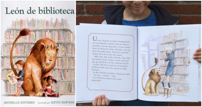 cuento recomendado critica: leon de biblioteca