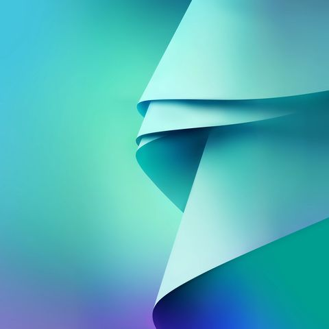 Bluish Galaxy Note 5 Stock Wallpapers