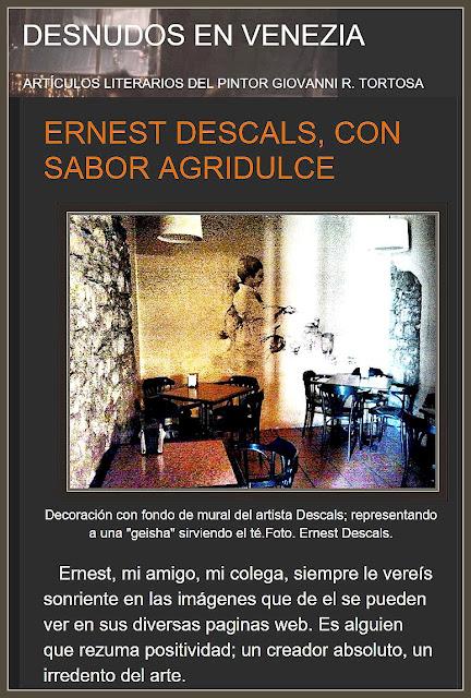 PINTURA-ARTICULOS-ARTE-ACTUALIDAD-DESNUDOS EN VENECIA-GIOVANNI TORTOSA-ARTISTA-PINTOR-ERNEST DESCALS