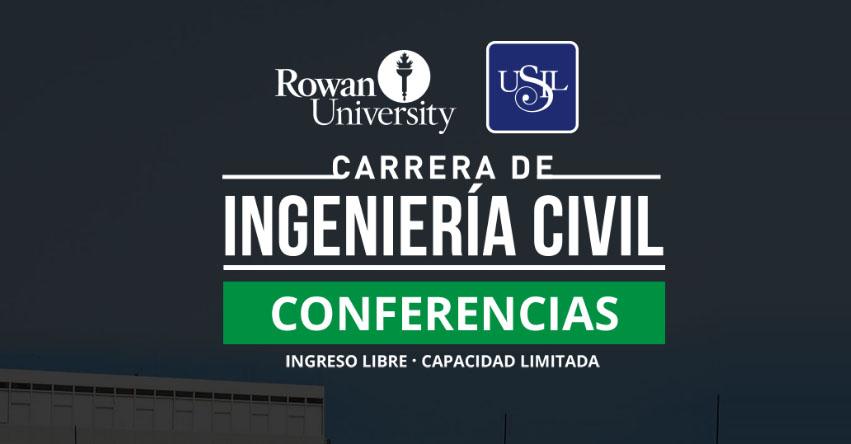 Investigadores en Ingeniería Civil de la Rowan University realizarán ciclo de charlas en la USIL - www.usil.edu.pe
