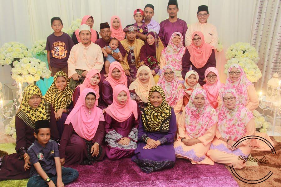 pengantin, keluarga