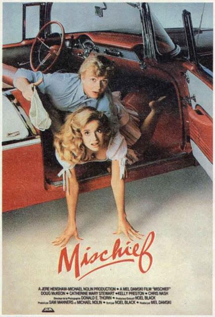 Original poster of Mischief Doug McKeon Kelly Preston movieloversreviews.filminspector.com