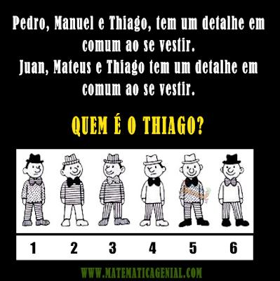 Pedro, Manuel e Thiago, tem um detalhe em comum ao se vestir