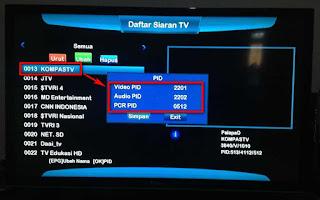 Cara Mendapatkan Chanel KTI Satelit Palapa D - Kreasi Parabola