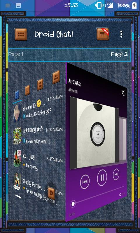 Droid Chat Blue Jeans v7.1.11 Apk Free Download
