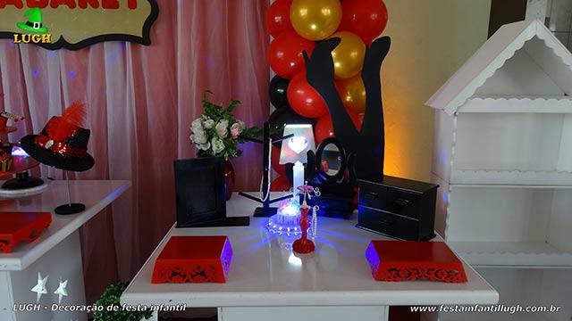 Decoração festa Cabaré