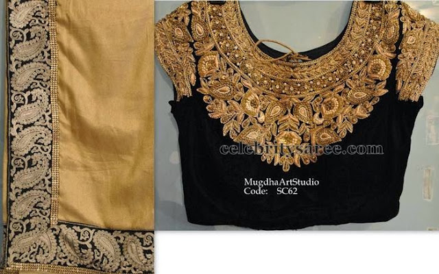 Velvet Blouse by Mugdha