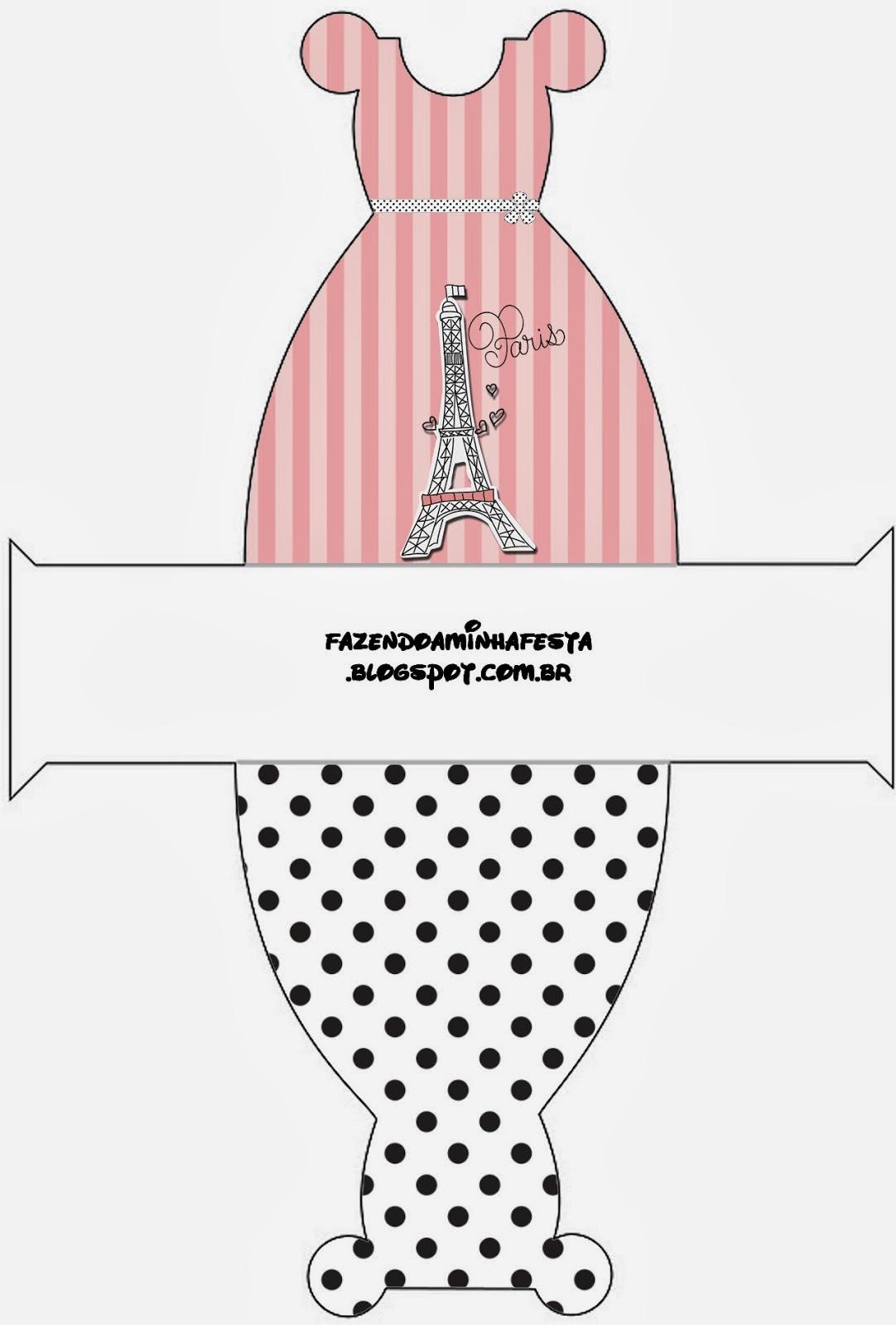 15 Años París: Cajas para Imprimir Gratis. | Ideas y ...